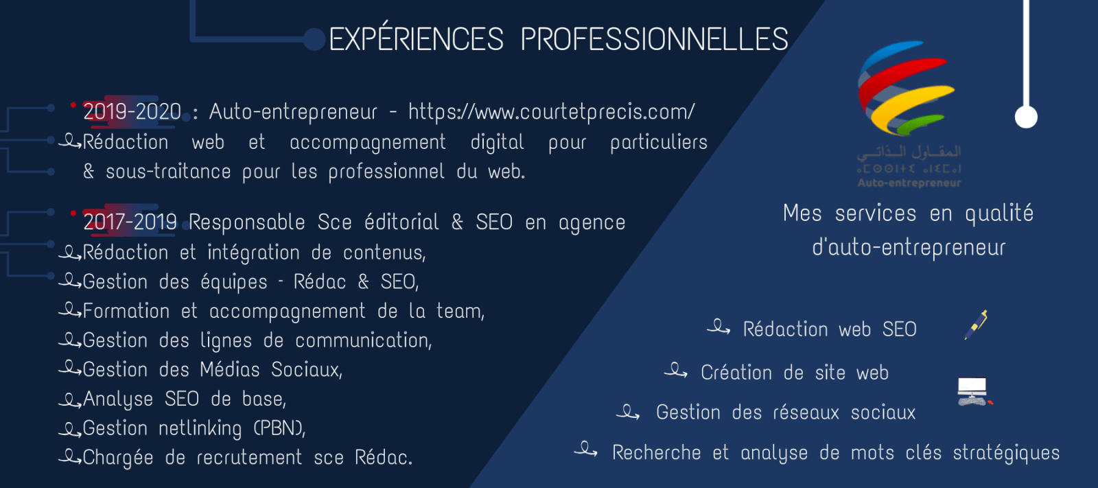 EXPÉRIENCES-PROFESSIONNELLES